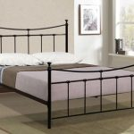 Birlea 4ft Emily Small Double Black Metal Bed Frame