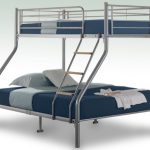 Birlea Nexus Silver Metal Triple Bunk Bed Frame