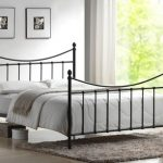 Time Living Alderley King Size Black Metal Bed Frame