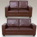 Annaghmore Queensbury Faux Leather 3+2 Seater Sofa Set