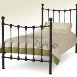 Serene Marseilles Single Black Metal Bed Frame