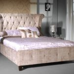 Limelight Epsilon King Size Mink Fabric Bed Frame