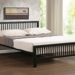 Time Living Meridian Double Black Metal Bed Frame