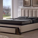 Time Living Atlanta Double Sand Fabric Bed Frame