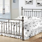 Time Living Alexander Double Black Nickel Bed Frame