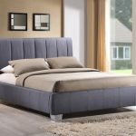 Time Living Braunston King Size Grey Fabric Bed Frame