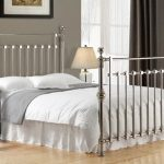 Time Living Edward King Size Chrome Bed Frame