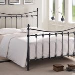Time Living Florida Double Black Metal Bed Frame