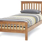 Serene Amelia Single Honey Oak Bed Frame