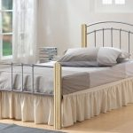 Heartlands Coral Single Silver Metal Bed Frame