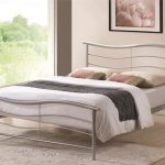 Time Living Waverley Double Silver Metal Bed Frame