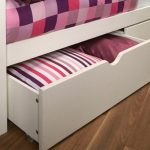 Limelight Flat Packed Pavo White Set Of 2 Under Bed Drawers
