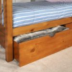 Limelight Flat Packed Pavo Pine Set Of 2 Under Bed Drawers