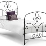 Julian Bowen Corsica Single Black Metal Bed Frame