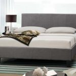 Birlea Berlin Double Grey Fabric Bed Frame