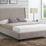 Time Living 4ft Edburgh Small Double Sand Fabric Bed Frame