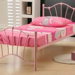 Birlea Sophia Single Pink Metal Bed Frame