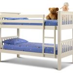 Julian Bowen Barcelona Ivory Wooden Bunk Bed Frame