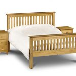 Asc Sedona Double Pine Bed Frame (high Footend)
