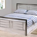 Asc Maya King Size Chrome And Nickel Bed Frame