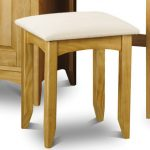 Julian Bowen Flat Packed Kendal Pine Furniture Dressing Table Stool