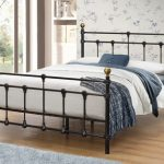 Birlea 4ft Atlas Small Double Black Metal Bed Frame