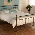 Limelight Tarvos King Size Light Brass Bed Frame