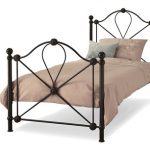 Serene Lyon Single Black Metal Bed Frame
