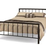 Serene 4ft Modena Small Double Black Metal Bed Frame