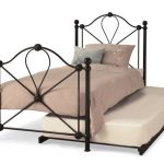 Serene Lyon Black Metal Guest Bed Frame