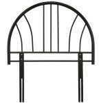 Serene Annabelle Black Metal Single Headboard