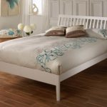 Limelight 4ft Ananke Small Double White Wooden Bed Frame
