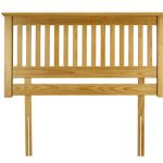 Julian Bowen Barcelona Antique Pine Double Headboard