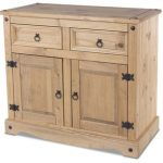 Core Flat Packed Corona Pine 2 Door 2 Drawer Sideboard