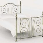 Serene 4ft Jessica Small Double Antique Brass Bed Frame