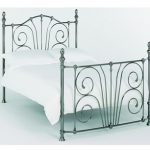 Serene 4ft Jessica Small Double Nickel Bed Frame