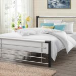Birlea Faro Double Black And Silver Metal Bed Frame