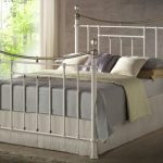 Birlea Bronte King Size Cream Metal Bed Frame