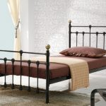 Birlea Atlas Single Black Metal Bed Frame