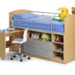 Julian Bowen Brooke Maple Mid Sleeper Bed Frame