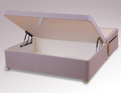 8a0da1e7879d Designed to offer a convenient storage solution, the Amber ottoman from  Sweet Dreams conceals a spacious compartment to store spare bedding, ...