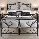 Lpd Florence Double Black Metal Bed Frame