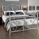 Lpd Florence Double White Metal Bed Frame