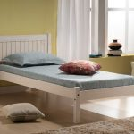 Birlea Rio Single Whitewash Wooden Bed Frame