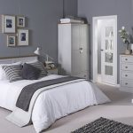 Lpd Flat Packed St Ives Grey And Ash 2 Drawer Small Bedside Cabinet