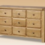 Birlea Assembled Woodstock Oak 9 Drawer Chest Of Drawers
