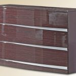 Heartlands Assembled Arden Cherry Gloss Single Pedestal Dresser
