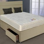 Highgrove Solar Backcare King Size Mattress With Faux Suede Divan Base