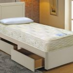 Highgrove 2ft 6 Solar Orthopocket 1500 Small Single Mattress With Faux