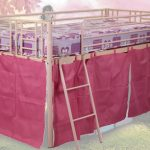 Sweet Dreams Twinkle Pink Mid Sleeper Bed Frame